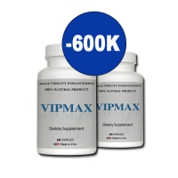 Tặng 600K với bộ đôi VipMax tăng kích thước cậu nhỏ