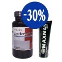 Combo khuyến mãi gel titan Maxman và viên uống Endowrx