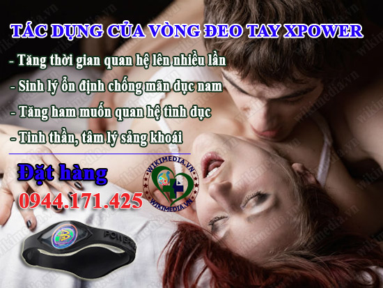 vong-deo-tay-xpower-cong-dung-la-gi